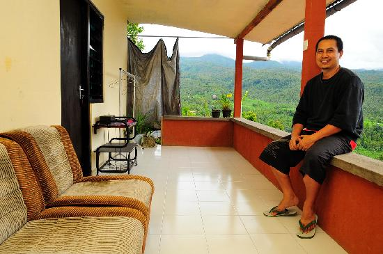 One Homestay: The owner... Kadek. My friend!