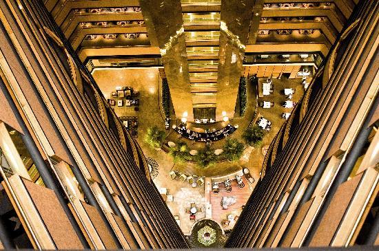 InterContinental Johannesburg Sandton Towers: View of the Atrium Restaurant