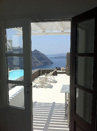 ‪أيناون فيلاز: View from our villa‬