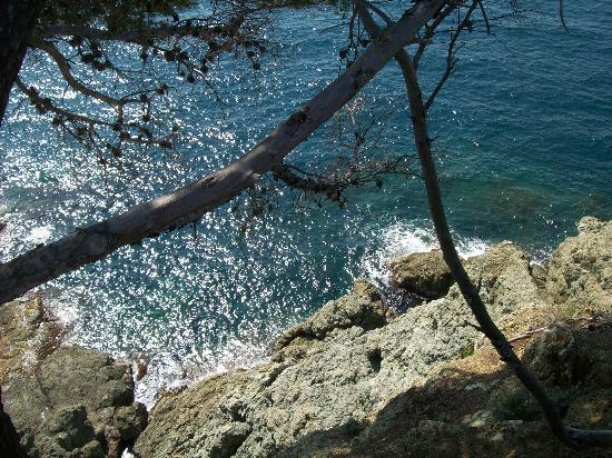 La Francesca: vista dalla terrazza della spiaggia