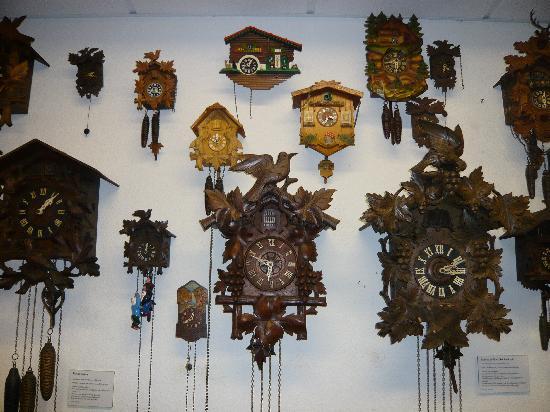 Schwarzwälder Uhren im Uhrenmuseum Bad Grund