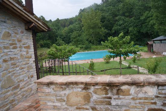 Borgovivo: vista piscina