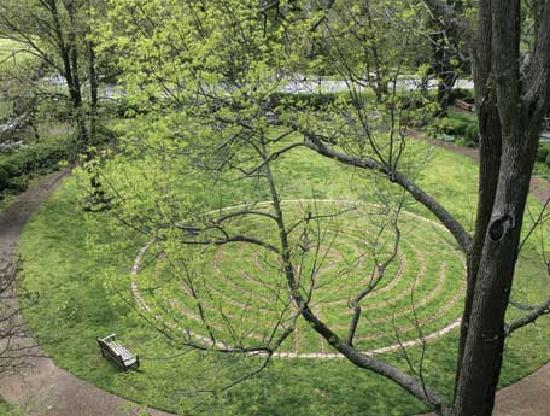 Scarritt-Bennett Center: Walk the labyrinth at Scarritt-Bennett