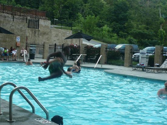 Pool Area Picture Of Sherwood Forest Resort Pigeon Forge Tripadvisor