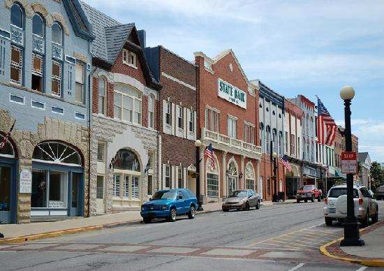 Harrodsburg, Κεντάκι: Downtown Historic District