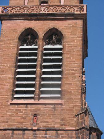 Heilig Kreuz Kirche: detail