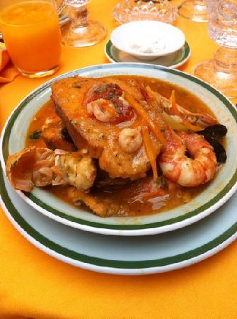 La Caravella: Fish stew venitian style