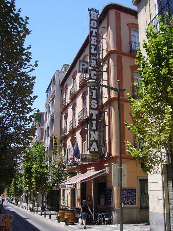 Reina Cristina Hotel: fachada