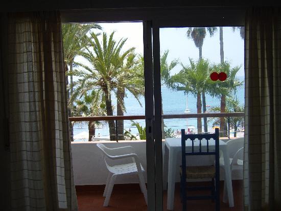 Apartamentos Playa Torrecilla: view from the living room