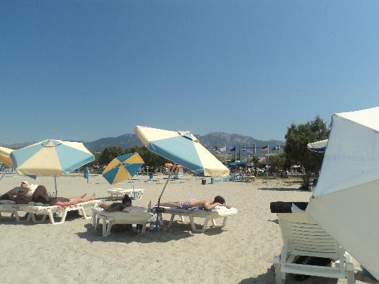 Ilios Hotel: Tigaki beach