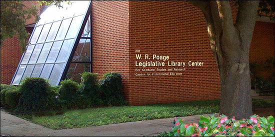 ‪W. R. Poage Legislative Library‬