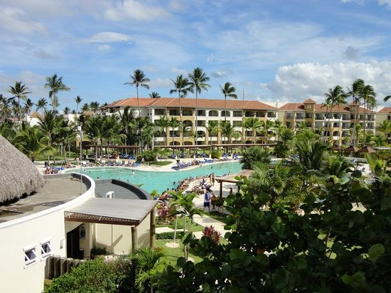 Now Larimar Punta Cana: view from our balcony