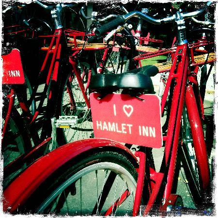 Hamlet Inn: The bikes