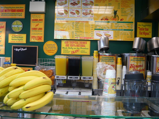 Inside Papaya King