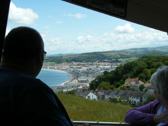 Great Orme Tramway: Great views on the way up