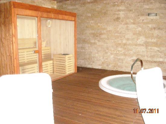 Hotel 2 Mari: la nuova sauna