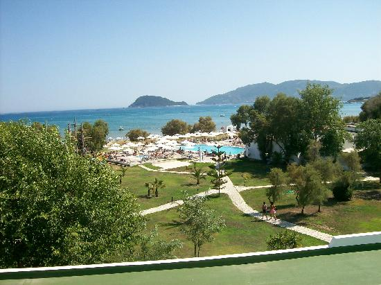 Louis Zante Beach : View from our room
