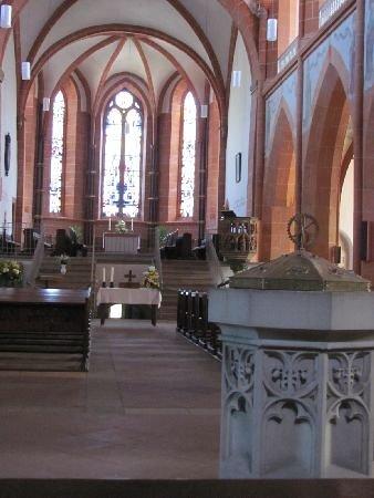 Stiftskirche: interior
