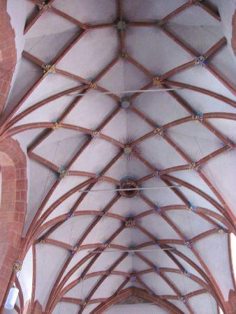 Stiftskirche: vaulted ceiling