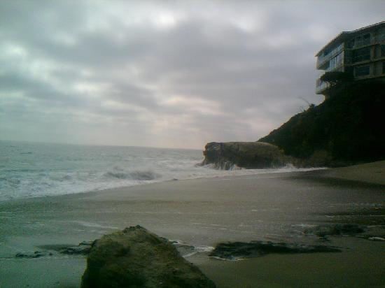 Table Rock Beach: the right side of cove