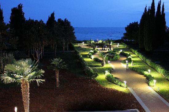 Hotel Laguna Materada: ballade romantique, le soir, vers la mer
