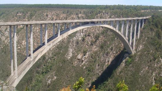 Face Adrenalin - Bloukrans Bungy: The bridge