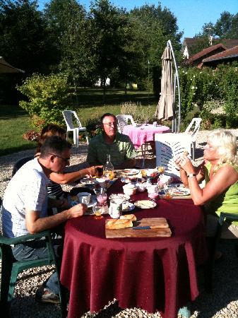Chambres d'hotes en Bourgogne du DEVU : Zufriedene Gäste