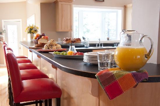 Inn at Humber Valley : Breakfast