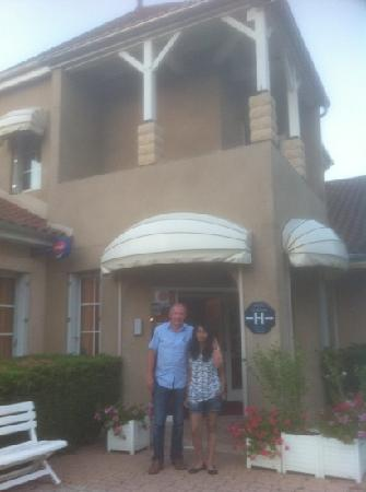 Cluny, France: papa et moi