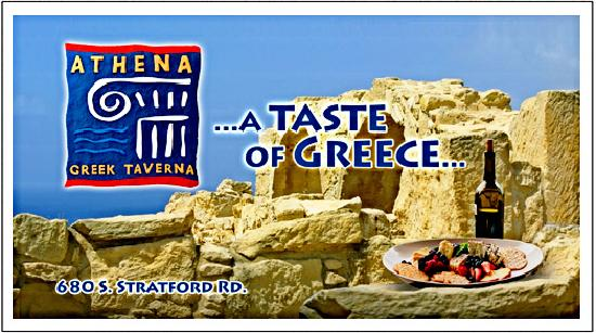 Athena Greek Taverna: Authentic Greek Cuisine
