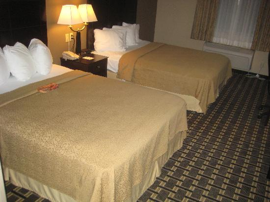 Quality Inn & Suites : King Bed on upper floor
