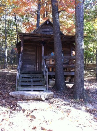Whippoorwill Lake Family Camping : The adorable cabin where we stayed