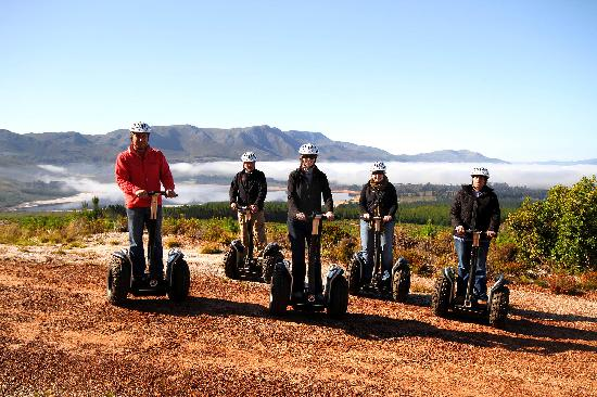 ECO-Discovery: Segway riding in the Elgin Valley