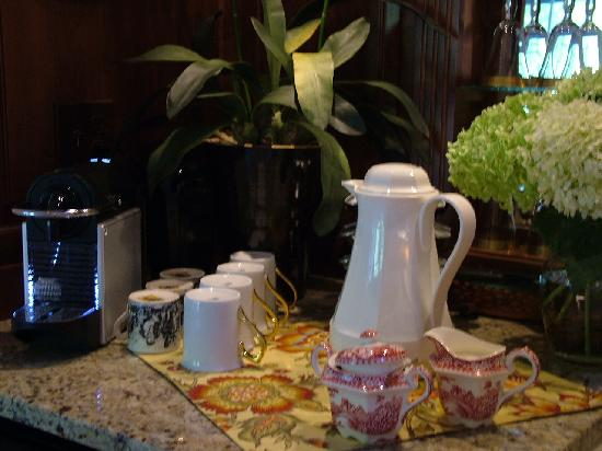 The Freshest Coffee, Tea, or Espresso at The Welsh Hills Inn