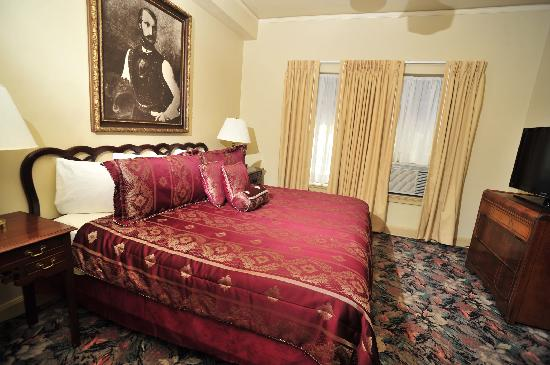 The Faust Hotel: Bedroom- Prince Solms Suite