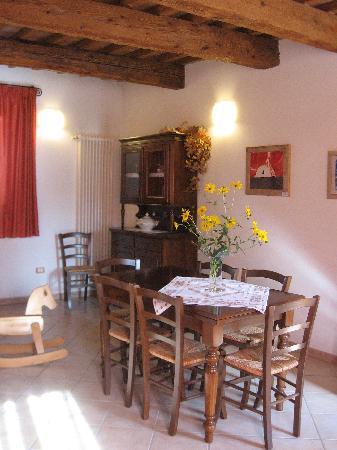 Casa Cortesi: The livingroom