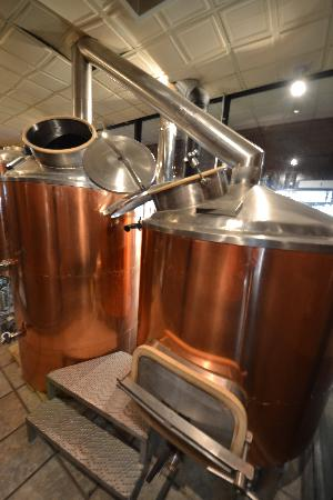 The Faust Hotel: Brew Tanks