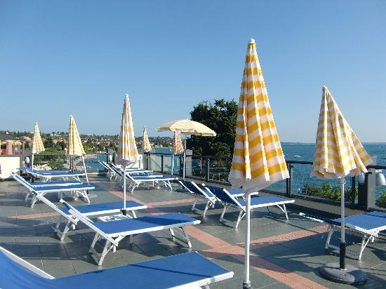 Hotel Villa Letizia : Dachterasse