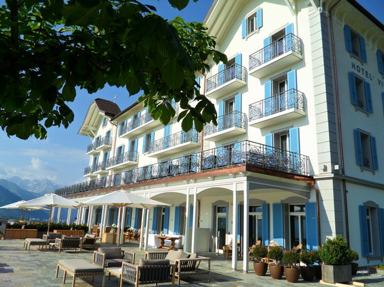 هوتل فيلا هونيج: Hotel Terrace