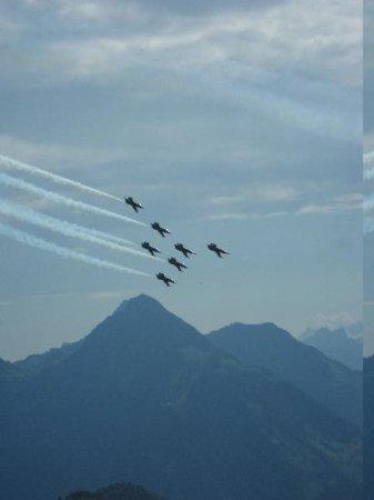 Hotel Villa Honegg: Breitling Flight Squad
