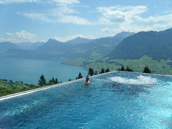 Hotel Villa Honegg: The Magic Pool