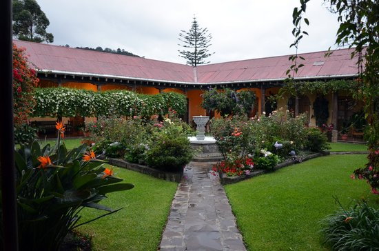 Aurora Hotel: Beautiful garden