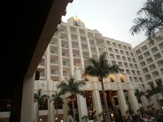 Hotel Riu Vallarta: patio