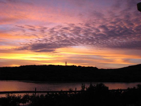 Santa Barbara Beach & Golf Resort, Curacao: another beautiful sunset