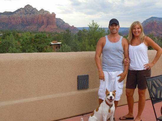 Best Western Plus Inn of Sedona: hotel terrace