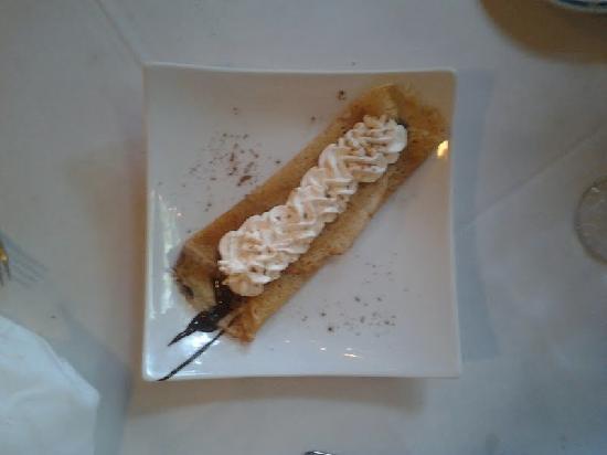La Crepe Michel: Dessert crepe with chantilly creme