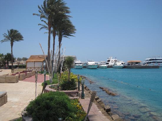 Hurghada Marriott Beach Resort: sea