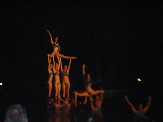 Hotel Playa Costa Verde: Water ballet