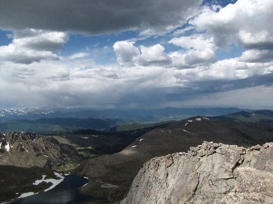 Mount Evans Scenic Byway: A view...one of many