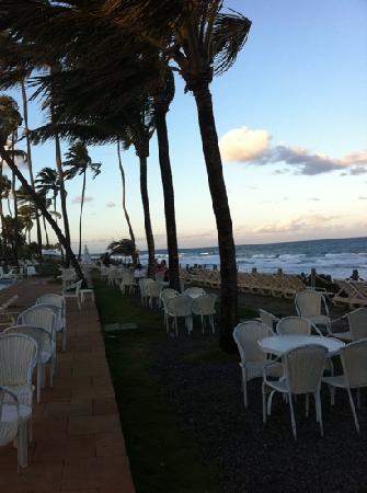 Catussaba Resort Hotel : ocean front view